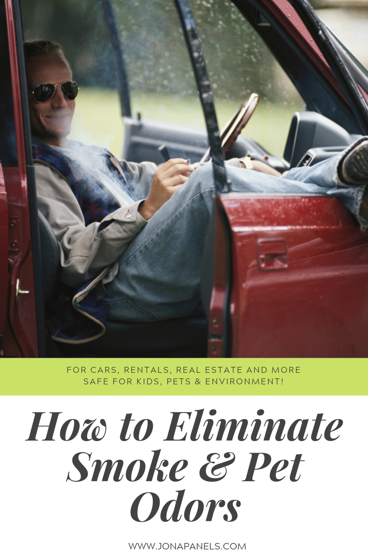 How to eliminate smoke and pet odors from carpet, walls, baseboards, vehicles, RVs and more!