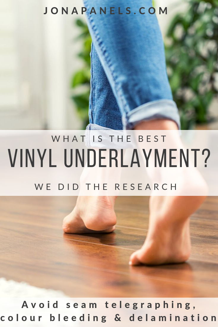 What is the best vinyl underlayment? We did the research and came up with one underlayment that had the best warranty/price/technology and was environmentally friendly too! Made in the USA! That's right, it's Enstron Underlayment.